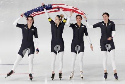 US speed skaters
